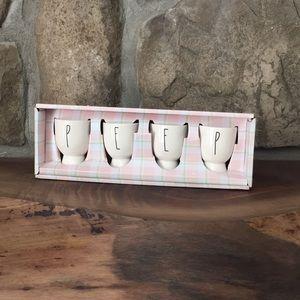 Rae Dunn PEEP Egg Cups